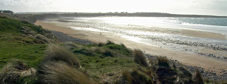 la plage de Spanish Point
